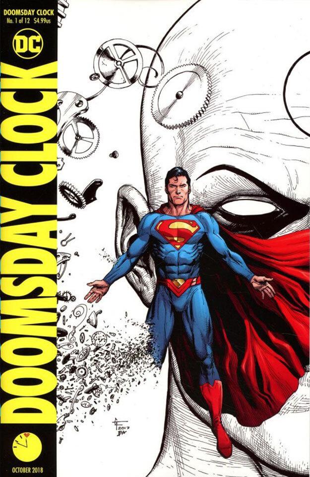 Doomsday Clock کمیک Watchmen