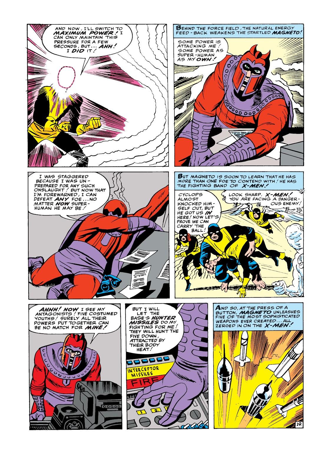 اولین حضور مگنیتو در دنیای کمیک