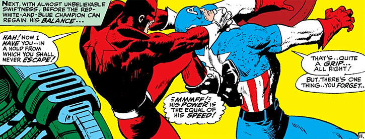fight between capitan america and red guardian
