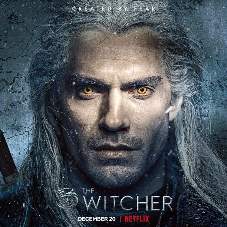 henry cavil in witcher