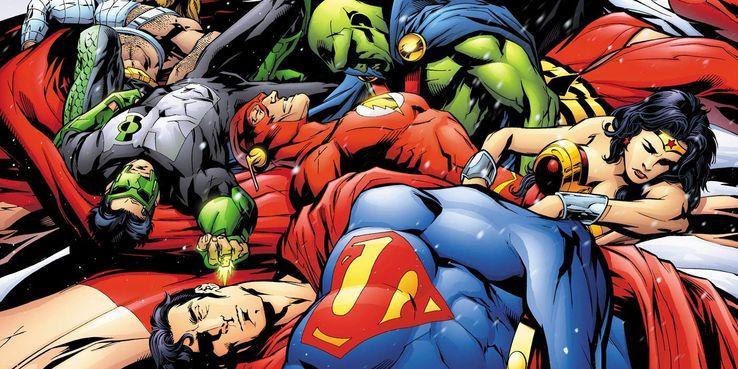 justice league death