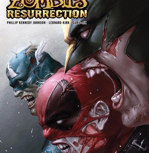کمیک بوک Marvel Zombies Resurrection