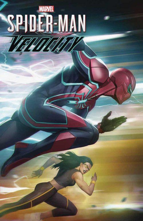 کمیک بوک Marvels Spider-Man - Velocity
