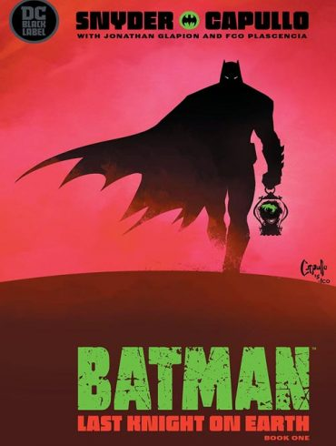 کمیک Batman - Last Knight on Earth