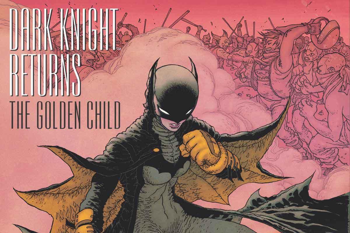 کمیک Dark Knight Returns Golden Child