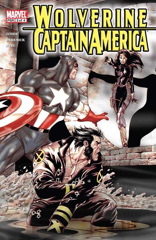 کمیک کاپیتان آمریکا و ولورین