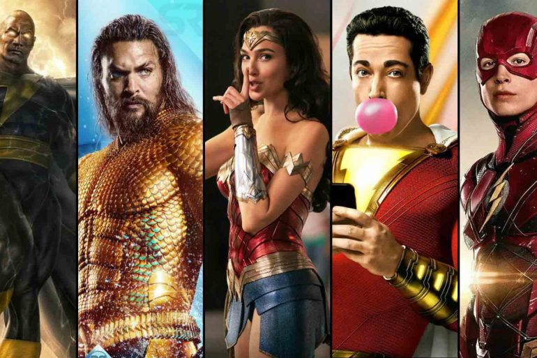dc upcoming movies