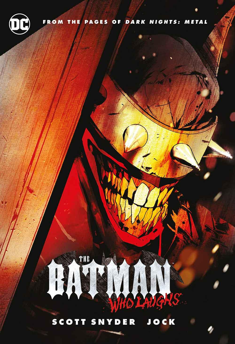 کمیک The Batman Who Laughs