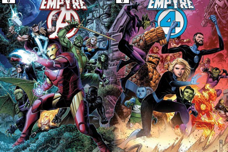 Avengers . Fantastic Four Empyre