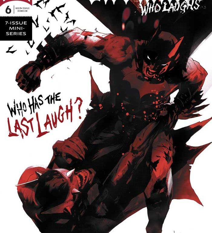 کمیک Batman Who Laughs