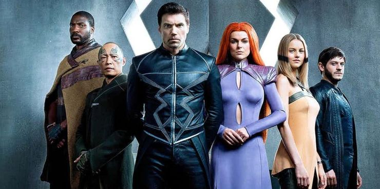 Inhumans-Team