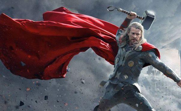 Chris-Hemsworth-as-Thor-Raising-Hammer