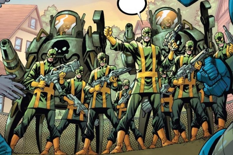 Hydra-in-comics-