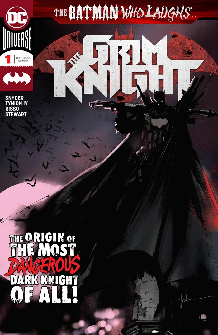 کمیک انگلیسی The Batman Who Laughs: The Grim Knight
