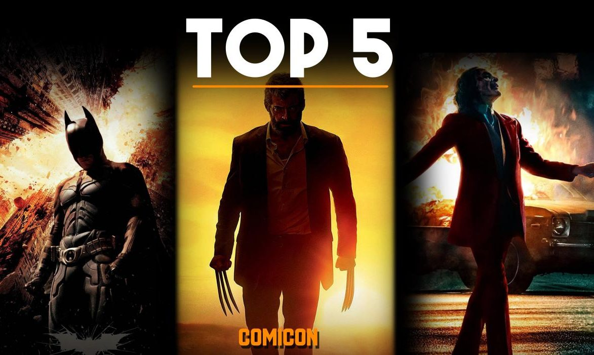 top 5 comic base movies