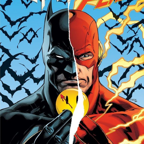 Batman The Flash cover