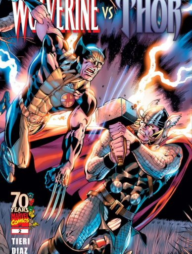 wolverin VS thor