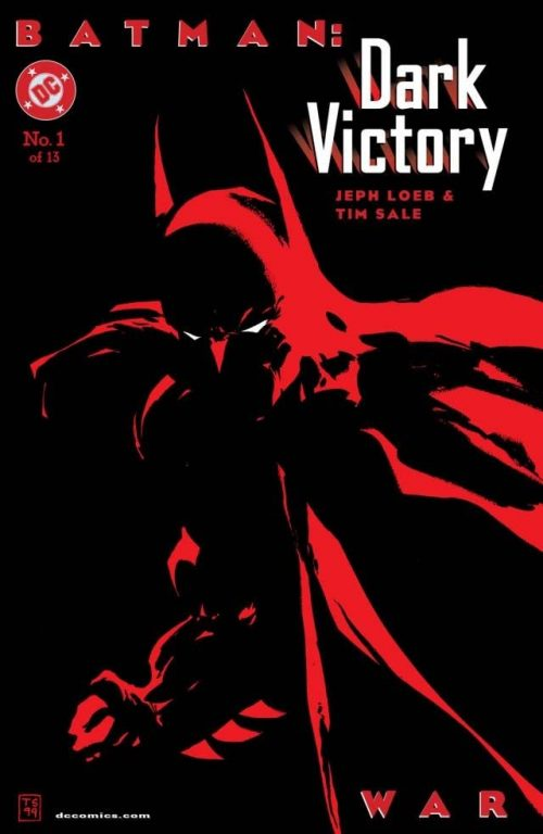 Batman Dark Victory cover