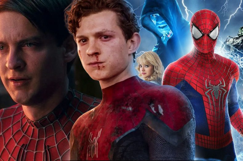 spiderman-tom-holland-Amazing-spiderman-2-Tobey-Maguire-
