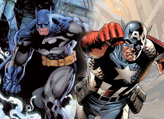 batman captain america